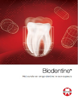 Biodentine: Dentine in een capsule of meer?